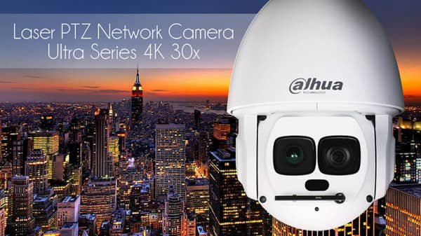 DAHUA - LASER PTZ NETWORK CAMERA
