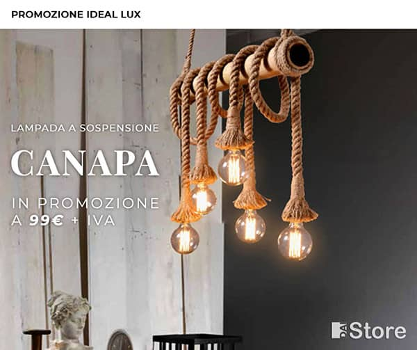 PROMO IDEAL LUX - CANAPA