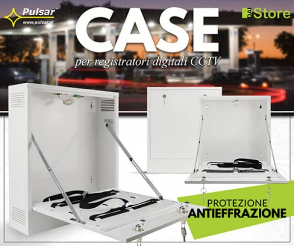 Pulsar - Case per registratori digitali CCTV